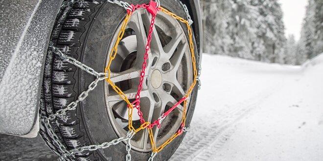 Jízda se sněhovými řetězy a pravidla bezpečného chování s nimi